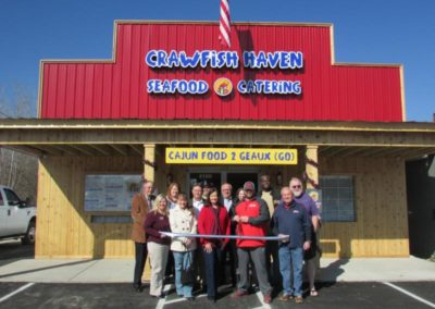 Crawfish Haven Seafood and Catering Ribbon Cutting